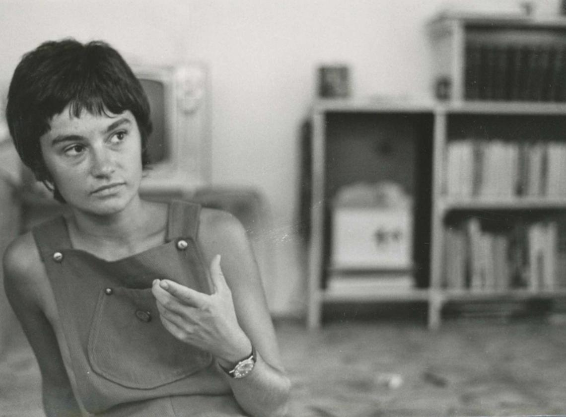 Photo of Leslie Carlson, SW Feminists Reunite Group Collection, donated by Leslie Carlson