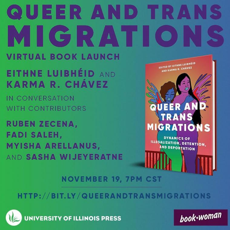 Queer and Trans Migrations Virtual Panel, University of Illinois Press